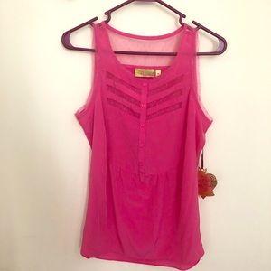 """NWT """"Vera Wang Princess"""" pink blouse 💖"""